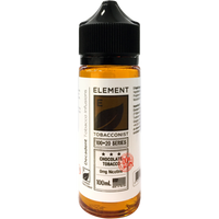 Element Tobacconist: Chocolate Tobacco 0mg 100ml Short Fill E-liquid