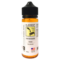 Crema E-Liquid by Element 100ml Short Fill