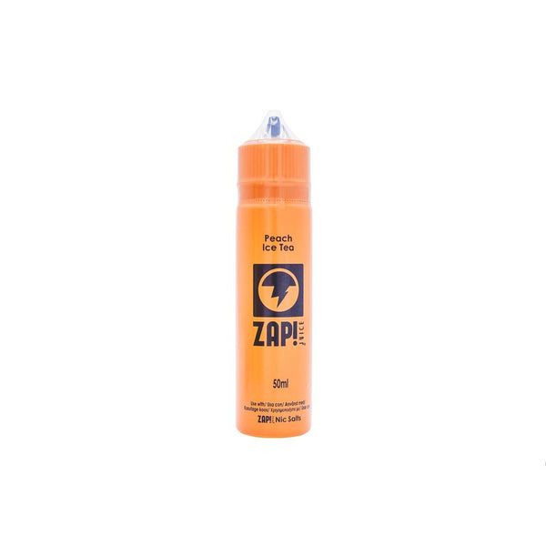 Zap! Juice Peach Ice Tea E-Liquid 50ml Short Fill