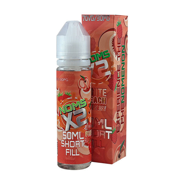 Experience The Phenomenon Noms X2: White Peach Raspberry E-liquid 50ml Short Fill