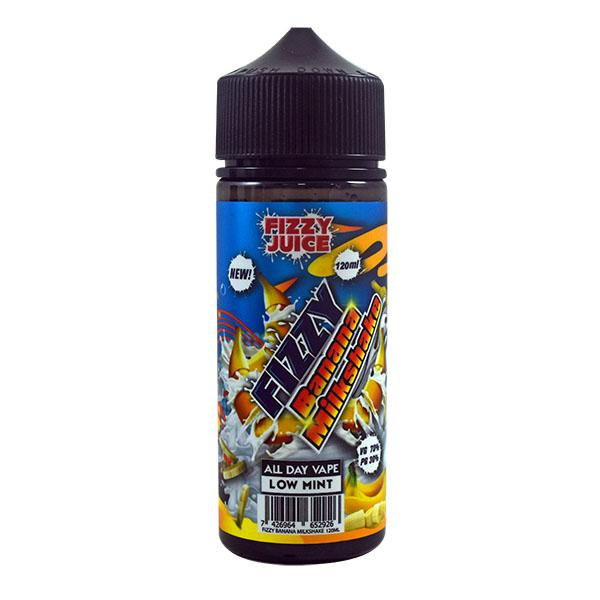 Fizzy Juice Banana Milkshake 0mg 100ml Short Fill E-Liquid