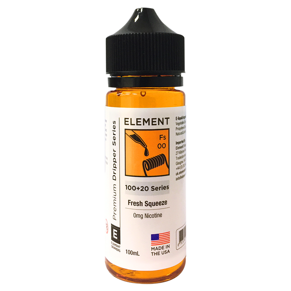 Fresh Squeeze E-Liquid by Element 100ml Short Fill - Short Fills