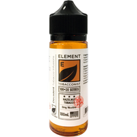 Element Tobacconist: Hazelnut Tobacco 0mg 100ml Short Fill E-liquid