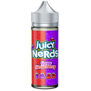 Grape Strawberry by Juicy Nerds 100ml Short Fill