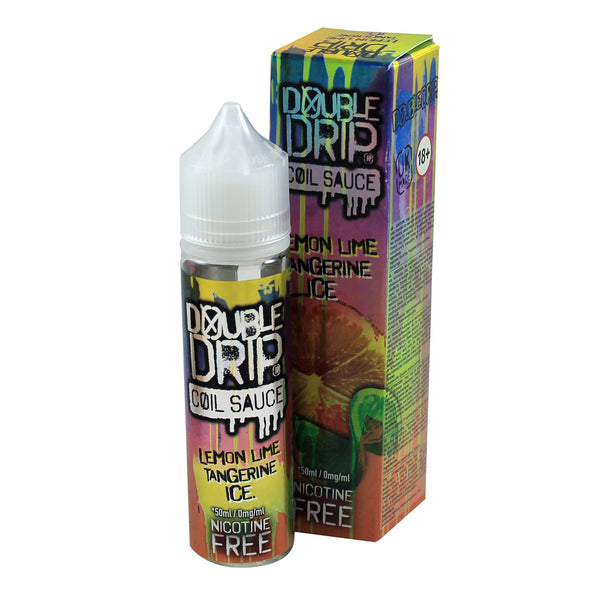 Double Drip Lemon Lime Tangerine Ice 50ml Short Fill - 0mg