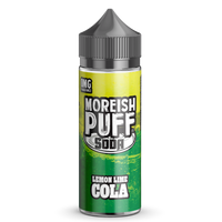Soda Lemon/Lime Cola E-Liquid by Moreish Puff 100ml Short Fill
