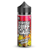 Lemonade & Cherry Candy Drops E-Liquid by Moreish Puff 100ml Short Fill