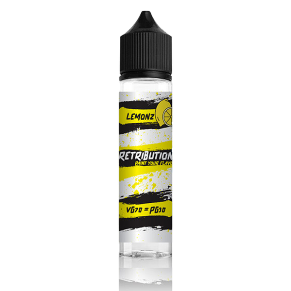 Retribution Lemon 0mg 50ml Short Fill E-Liquid