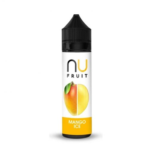 Mango Ice By nu Fruit E-Liquid 0mg Shortfill - 100ml