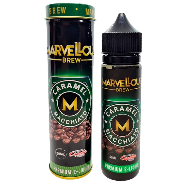 Marvellous Brew Caramel Macchiato 0mg 50ml Short Fill E-Liquid