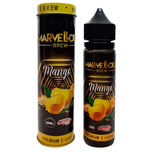Marvellous Brew Mango 0mg 50ml Short Fill E-Liquid