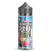 Moreish Puff Summer Cider on Ice Mixed Berries 0mg 100ml Short Fill E-Liquid