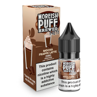Mocha Frappe Latte E-Liquid Nic Salt by Moreish Brewed 10ml