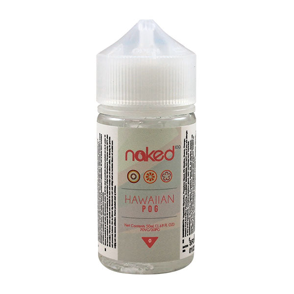 Naked 100 HawaIIan Pog 0mg 50ml Short Fills E-liquid