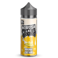 Moreish as Flawless Original Custard 100ml Short Fill E-liquid