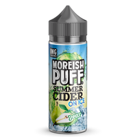 Moreish Puff Summer Cider on Ice Pear 0mg 100ml Short Fill E-Liquid