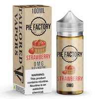 Strawberry - Pie Factory By Tailored Vapors 0mg E-Liquid - 100ml
