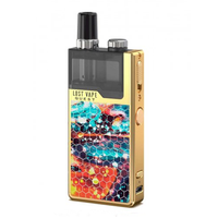 Q-Pro Vape Kit by Lost Vape | Gold Dazzling