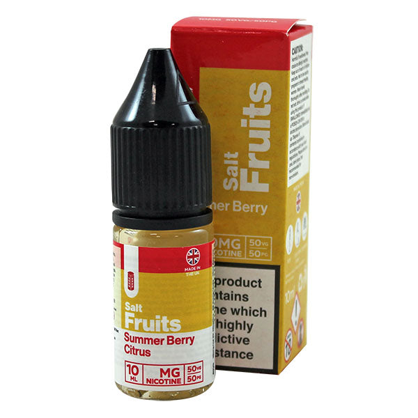 Red Liquids Summer Berry Citrus Nic Salt 10ml