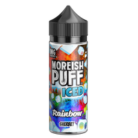 Moreish Puff Iced Rainbow Sherbet 0mg 100ml Short Fill E-Liquid