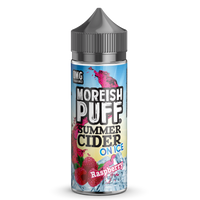 Moreish Puff Summer Cider on Ice Raspberry 0mg 100ml Short Fill E-Liquid