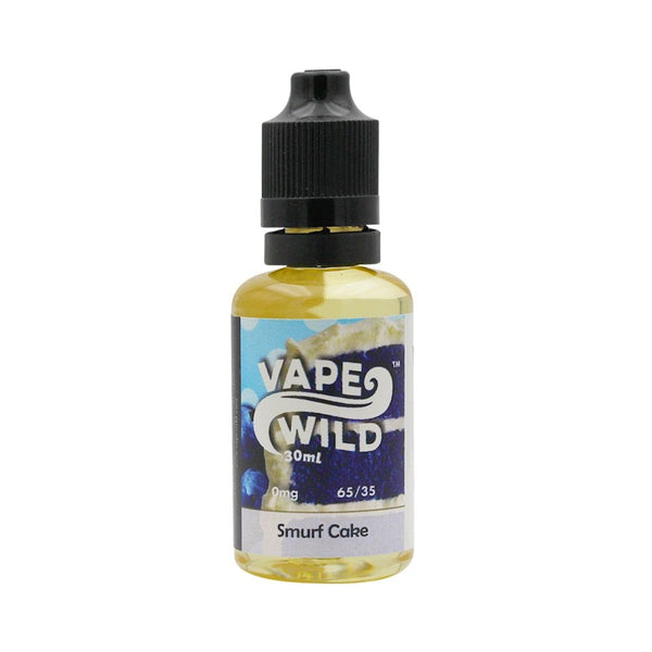 Smurf Cake E-Liquid by Vape Wild 10ml - TPD Compliant E-Liquid