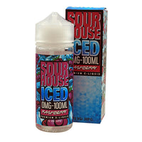 Sour Raspberry Iced E-liquid by Sour House 100ml Short Fill