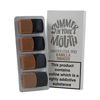 Summer In Your Mouth Vanilla Tobacco Smokeless Pod 4 x 10ml