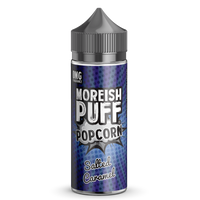 Moreish Puff Popcorn Salted Caramel 0mg 100ml Short Fill E-Liquid