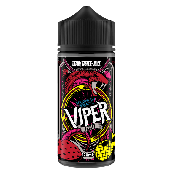 Viper E-Juice Strawberry Pineapple 0mg 100ml Short Fill E-Liquid