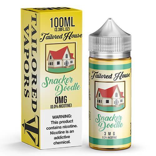 Snacker Doodle By Tailored House 0mg E-Liquid 100ml