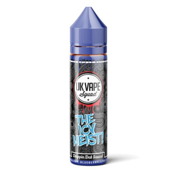 UK Vape Squad The Icy Heist 0mg 50ml Short Fill E-Liquid