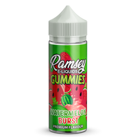 Watermelon Burst E-Liquid by Ramsey E-Liquids - Short Fills UK