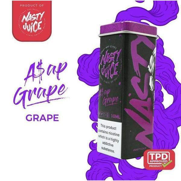 A$AP Grape By Nasty Juice TPD Compliant E-Liquid 10ml Expired