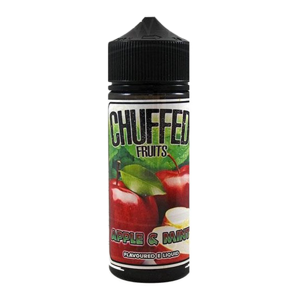 Chuffed Fruits: Apple & Mint 0mg 100ml Short Fill E-Liquid