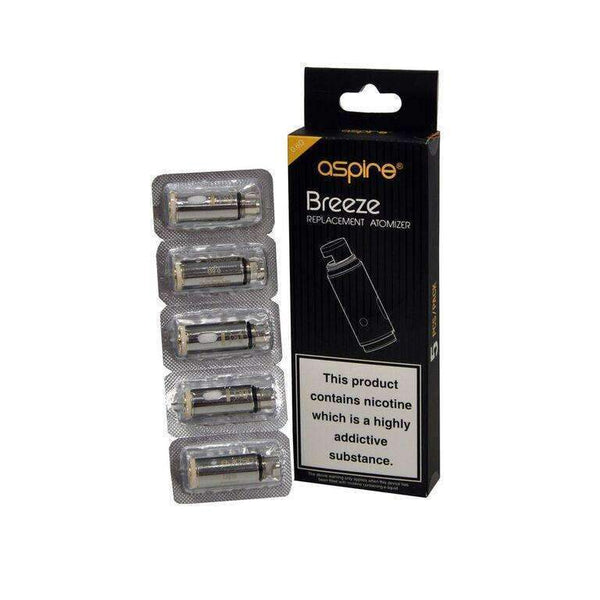 Aspire Breeze Replacement Atomizer - 5Pk - Coil