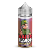Major Flavor: Beetle-Juice E-Liquid 100ml Short Fill