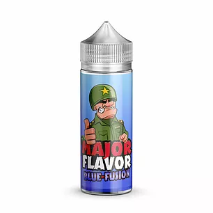 Major Flavour Blue Fusion 0mg 100ml Short Fill E-Liquid