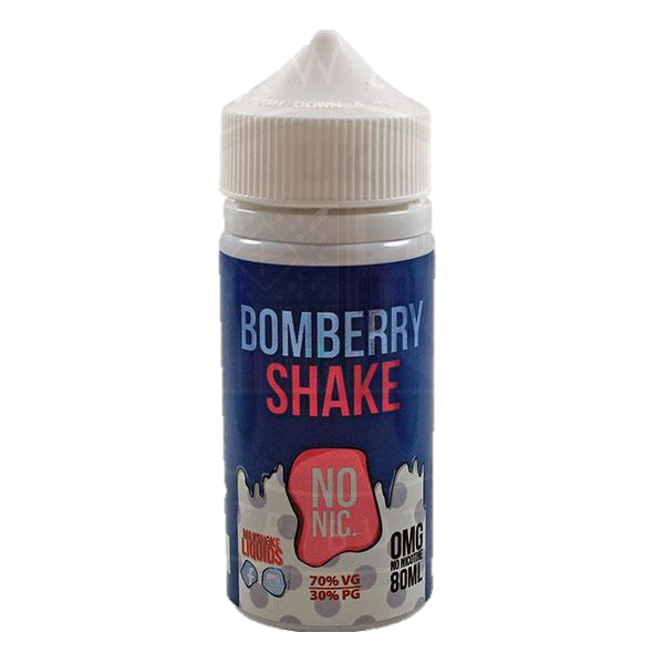 Milkshake E-liquids Bomberry Shake E-Liquid 80ml Short Fill