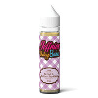 Bread and Butter Pudding E-liquid by Jeffries Vintage Bakes 50ml Short Fill