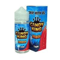 Candy King Swedish 100ml Short Fill - 0mg