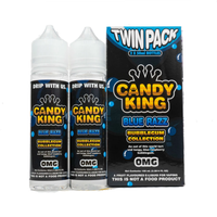 Candy King Twin Pack Bubblegum Collection Blue Razz 50ml Short Fills
