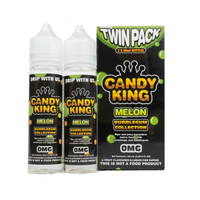 Candy King Twin Pack Bubblegum Collection Melon 50ml Short Fills