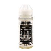 Warning - Cherry Lime Slush E-liquid by Law Less 100ml Short Fill - Short Fills