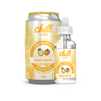 Chill E-Liquid Golden Pineapple 60ml Short Fill - 0mg Dated 02/19