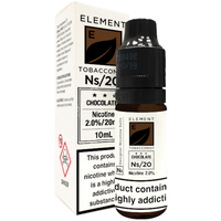 Chocolate Tobacco Nic Salt by Element 10ml
