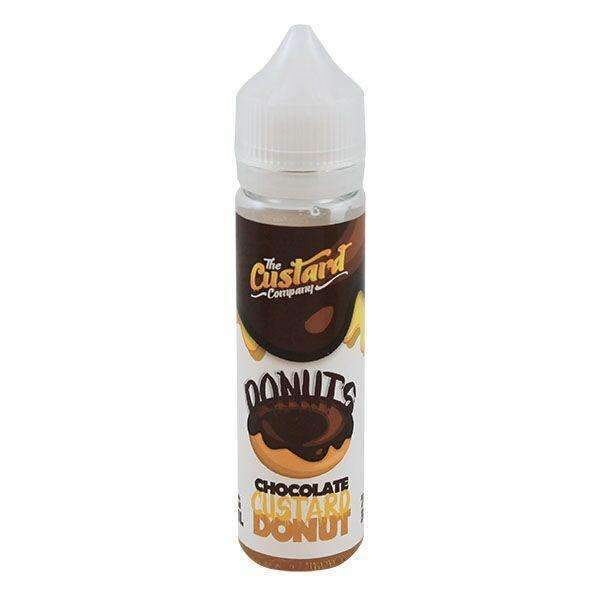 Chocolate Custard Donut By The Custard Company 0mg Short Fill - 50ml - Short Fills