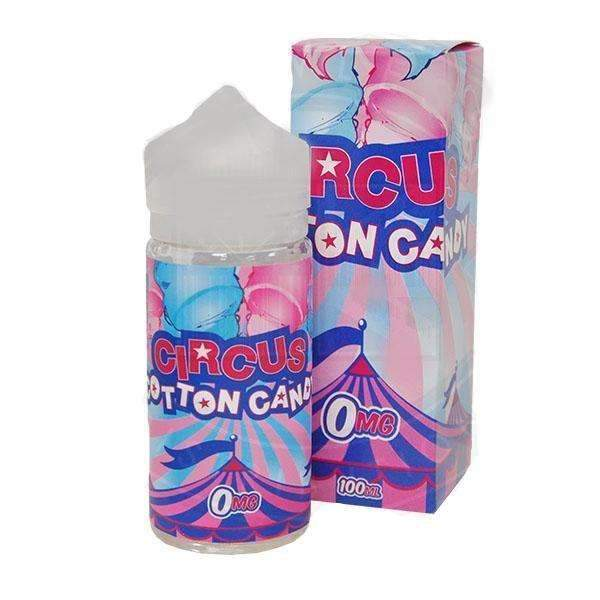 Circus Cookies Circus Cotton Candy 100ml Short Fill - 0mg