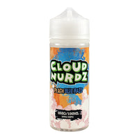 Cloud Nurdz Peach Blue Razz 100ml Short Fill
