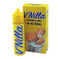 Cookies & Milk By V'Nilla 0mg Short Fill - 50ml